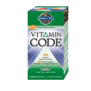 Vitamin Code Family Multi 120 Capsules Plus Where To Buy From Garden Of Life