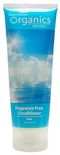 Desert Essence Organics Fragrance Free Conditioner is a gentle yet effective unscented conditioner..