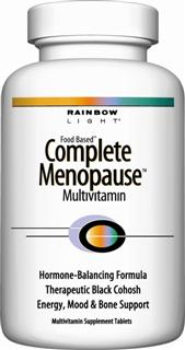 Complete Menopause Multivitamin is a comprehensive multivitamin with therapeutic herbal relief to ease common menopausal symptoms..