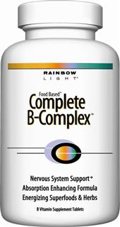 B-Complete  A complete B-50 complex with foods & herbs for overall vitality.