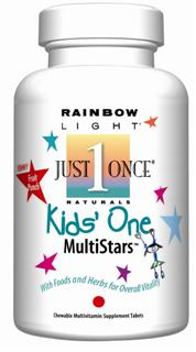 Kids One MultiStars is a delicious chewable multivitamin for kids with 