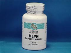 D and L forms of phenylalanine in a 50/50 mix.  L-phenylalanine is frequently supplemented by ortho- molecular medical doctors and psychiatrists because it is reported to possibly be beneficial with mood instabilities.  Patients currently taking MAO inhibitors should not be on DLPA..