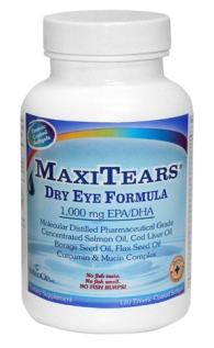 Replenishing your body with omega fatty acids may help improve the quality of your tears by replacing the oils lost by our bodies, especially as we age. 1000 mg of EPA & DHA from molecularly distilled pharmaceutical grade Salmon Oil, Cod Liver Oil, Borage Seed Oil, Flax Seed Oil, Turmeric, Mucin Complex.