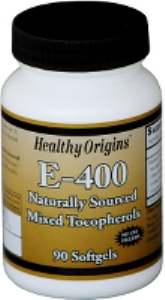Healthy Origins® Natural Vitamin E with 100% Natural Mixed Tocopherols is a major antioxidant that supports cardiovascular health..