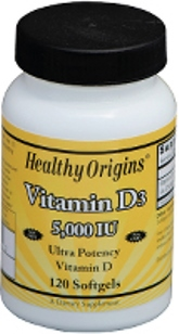Healthy Origins- Vitamin D3 5,000 is key nutrient manufactured in a highly absorbable liquid softgel form..