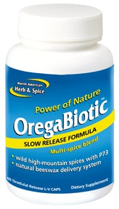 Oregabiotic (60 capsules) by North American Herb and Spice is a potent multi spice extract that supports immune system health and works as a natural germ-killer..