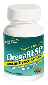 The full-strength most concentrated Oreganol P73 and spice supporting respiratory health with herbal extracts and mountain grown cumin..