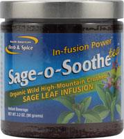Wild remote-source sage whole food tea soothes while it builds.