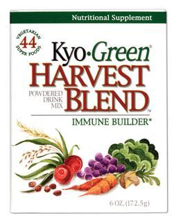Kyo Green Harvest Blend is a quick and easy way to get maximum nutrition from one convenient whole food source for optimal health..