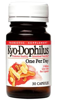 Take Kyo-Dophilus during and after a cycle of medication, when you travel, and everyday to boost immunity, promote healthy intestinal function and general well-being..