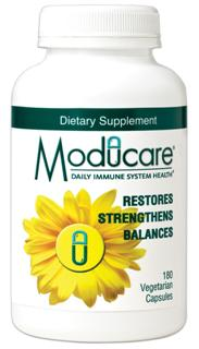 Moducare is a patented** blend of plant sterols and sterolins in a clinically proven ratio of 100:1 that works to restore, strengthen and balance your bodys immune system..