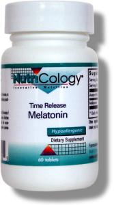 This time release form allows the melatonin to be released slowly into the system over a longer period of time, potentially being particularly beneficial for the aspects of brain chemistry involved in sleep and staying asleep..