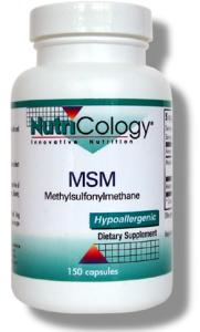 MSM is involved with a variety of biological functions, including the maintenance of collagen integrity, and it nutritionally supports the formation of healthy connective tissue..