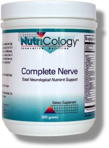 Complete Nerve is a powdered, comprehensive neurovascular support formula that provides important general nutrition, as well as precursors for the formation of L-dopa, dopamine and other neurotransmitters..