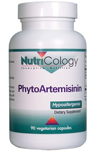 PhytoArtemisinin contains pure artemisinin (Qinghaosu), the active constituent of the herb Artemisia annua (sweet wormwood) enhanced with phytosaponins..