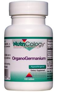 the same Organic Germanium except in tablet form. Pure Ge-132 Organic Germanium is a unique organogermanium compound, bis-carboxyethyl germanium sesquioxide, sometimes called just germanium sesquioxide..