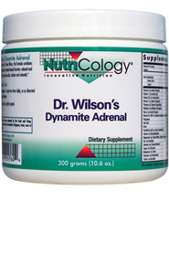 Based on the work of Dr. James Wilson, this formula combines the important nutrients for optimal adrenal function: adrenal and other glandulars, herbs, amino acids, vitamins and minerals..