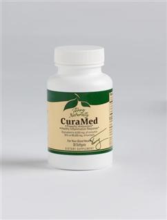 CuraMed's Powerful Antioxidant  proprietary complex provides enhanced bioavailability, sustained retention time. Equivalent to 4,000 mg of curcumin 95% or 85,000 mg of tumeric..