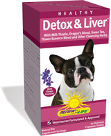 Supports detoxification and healthy liver function for your dog's vibrant health and energy.