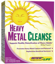 2-part heavy metal organ detox formula. Cleansing and detox system, with easy-to-swallow caps, aids the body's natural detoxification and promotes heavy metal capture and removal..