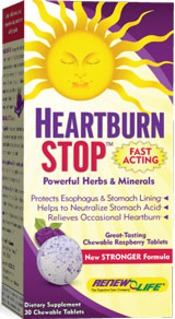 Natural digestive enzyme supplement & heartburn remedy, great-tasting formula for relief of occasional heartburn & indigestion..