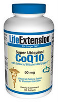 Life Extension offer the highly bioavailable ubiquinol form of CoQ10 in a patented delivery system with a superior absorption level..