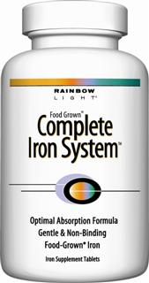 Complete Iron System  Gentle, non-binding iron system for supporting overall vitality.