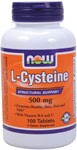 L-Cysteine provides structural support for Healthy Skin, Hair and Nails.  With Vitamin B-6 and C NOW L-Cysteine is a non-essential amino acid that is an important component of hair, nails and the keratin of the skin. L-Cysteine stabilizes protein structure and aids in the formation of collagen, thereby promoting healthy skin, hair and nail texture and elasticity..