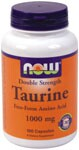 Double Strength  Nervous System Health  Supports A Calm Mood* Taurine is a conditionally essential amino acid which is not utilized in protein synthesis, but is mainly found free in most tissues, especially throughout the nervous system..