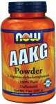 AAKG (L-Arginine-alpha-ketoglutarate) may improve athletic performance containing Arginine the building block of protein..