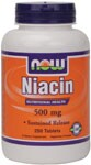 Nutritional Health  Sustained Release  Vegetarian Formula  Niacin - Forms and Safety.
