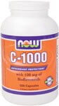 Vitamin C-1000 provides a potent dosage of this key vitamin and is blended with Bioflavonoids, natural synergists to Vitamin C, to offer strong antioxidant protection..