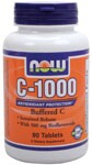 Buffered C, Sustained Release,  With 500 mg Bioflavonoids. Calcium Ascorbate is not acidic and will not contribute to excess stomach acidity or irritation in sensitive persons.  Antioxidant Protection.
