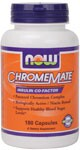 Insulin Co-Factor  Patented Chromium Complex  Biologically Active/Nicain Bound  Supports Healthy Glucose Metabolism* NOW.