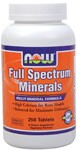 Minerals are of cornerstone importance to human function, and work synergistically with the vitamins in our body to normalize metabolism, growth, development and cellular activity. Now Foods-Kosher Certified.
