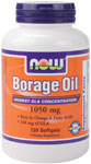 Borage is plant based has the highest GLA concentration and Rich in Omega-6 Fatty Acids. Borage oil is excellent in reducing skin conditions such as eczema and dermatitis and works effectively to reduce inflammation..