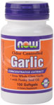 Garlic  with Parsley Seed Oil NOW® Odor Controlled Garlic is a specially made Japanese product which has been concentrated to active sulfur compounds, including Allicin, that may be responsible for many of garlic's renowned effects..