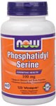 NOW Phosphatidylserine is a phospholipid compound derived from soy lecithin that plays an essential role in cognitive health,  supports memory & brain function, and helps promote intercellular communication..
