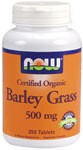 Green Superfood  Made with Certified Organic Barley Grass  Vegetarian Formula Barley Grass is harvested in the spring in its early stage of growth on fertile organic Kansas soil.  It is then carefully dehydrated and tableted to ensure preservation of all its fragile nutritional elements. .