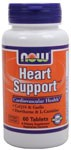 NOW Heart Support contains energy releasing L-Carnitine and B-vitamins along with CoQ10 and Alpha Lipoic Acid - two powerful antioxidants, vital to the cellular protection and free radical destruction of hard-working heart muscles..