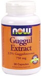 """Herbal Supplement  2.5% Guggulsterones Guggul Extract is a purified extract isolated from the crude guggul gum of the small Commiphora mukul tree in India. The two active components Z-Guggulsterone and E-Guggulsterone are present at an average of 2.5%. Other components of Guggul Extract include diterpenes, sterols, esters and fatty alcohols. This ancient medicinal plant is referenced in the classical Ayurvedic medical text """"Sushruta Samhita"""" for its traditional benefits.."""