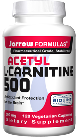 One of the amino acids found in high concentration in human brain, nerve, liver and sperm cells, Acetyl-L-Carnitine is a more bioavailable form of L-Carnitine..