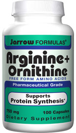 Arginine, as a part of physical performance, is used by muscle tissue to produce creatine..