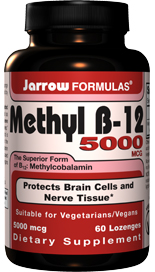 Methyl B-12 protects nerve tissue and brain cells, and promotes better sleep..