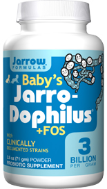 Infant Probiotic Powder - Contains Clinically Documented Strains - 3 Billion Probiotic Organisms Per ¼ tsp - 4 bifido + 2 lactobacilli strains - Includes Prebiotic FOS - Natural fiber that help probiotics thrive - No Sweeteners, Colorants or Preservatives -.