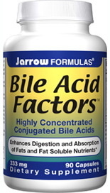 Enhances Digestion, The Absorption of Fats and Fat Soluble Nutrients. Conjugated bile acids have been shown in clinical trials to be effective in improving fat absorption and nutritional status..
