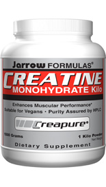 Creatine is synthesized in the liver from the amino acids.