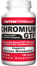 Organically bound GTF Chromium complex from nutritional yeast supports glucose metabolism..