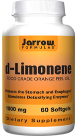 d-Limonene promotes upper digestive health by coating the stomach lining and neutralizing acid..