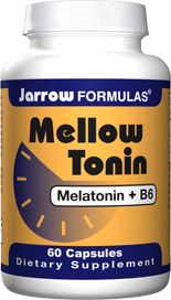 Melatonin plus Vitamin B6 Capsules - Useful When Crossing Time Zones - 3 mg Melatonin Per Capsule - B6 Added to Counteract Depleted Levels. .